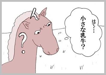 サクラ、野生馬に会う。3
