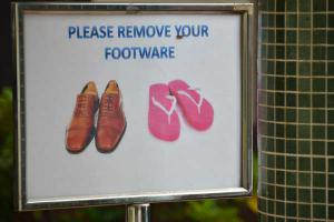 Please Remove Your Footware