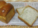 黒ごまと大豆のミニ食パン