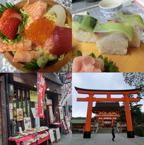 かき仙さんの龍馬寿司・・・すごくおいしいです!