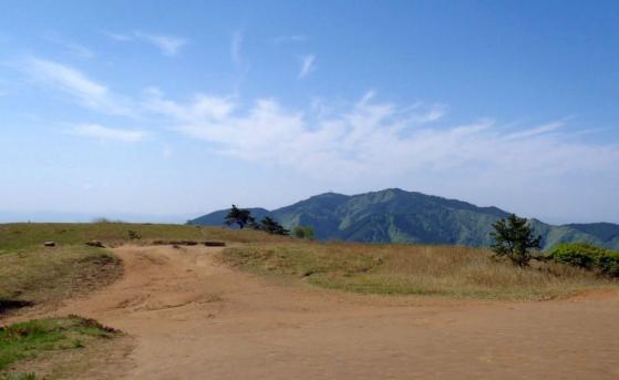 01 葛城山から金剛山
