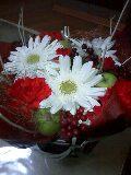 2009 Xmas フラワー 赤