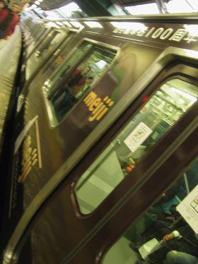 チョコレート電車