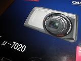 オリンパスμ-7020初撮影