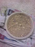 粘土(乾燥後)