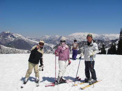 スキーは楽し1