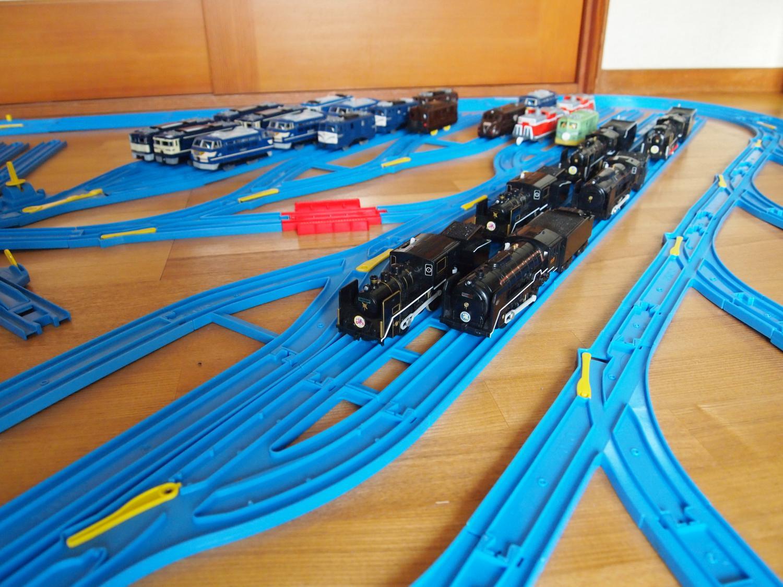 蒸気機関車の車庫の新設