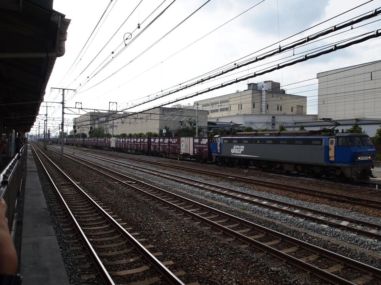 吹田駅にて
