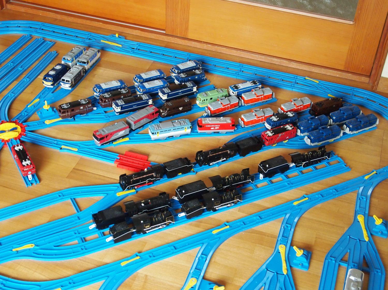 機関車大集合