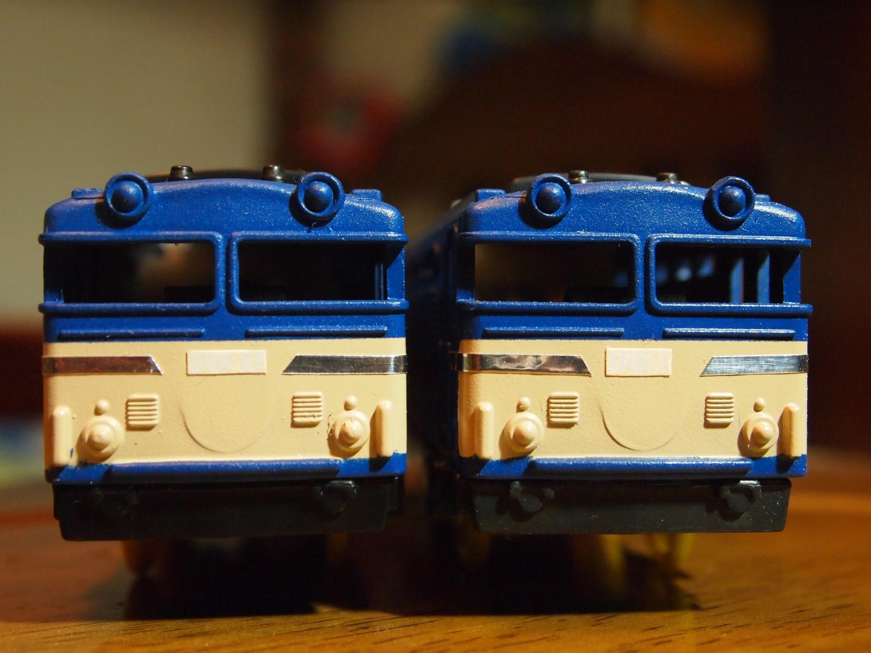 EF60 87号機とEF65 1号機