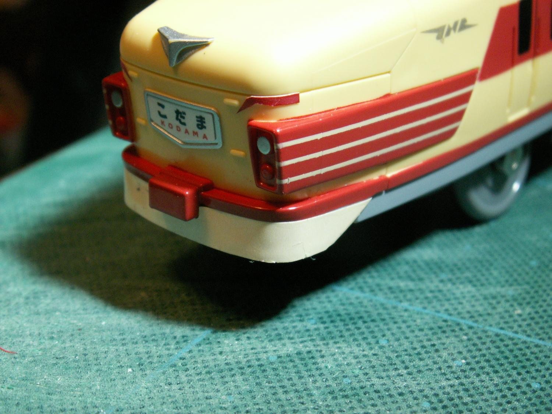 489系のスカートの色