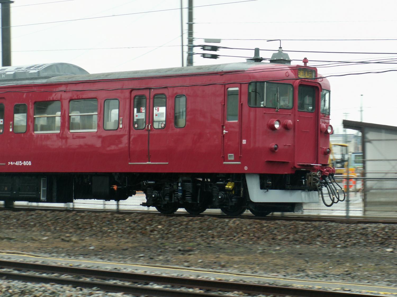 415系800番台魔っ赤色