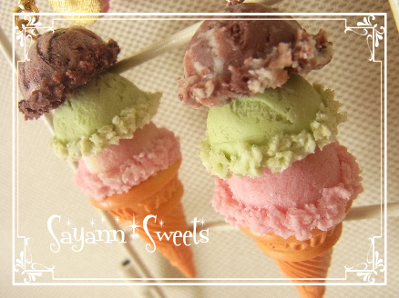 3段アイス