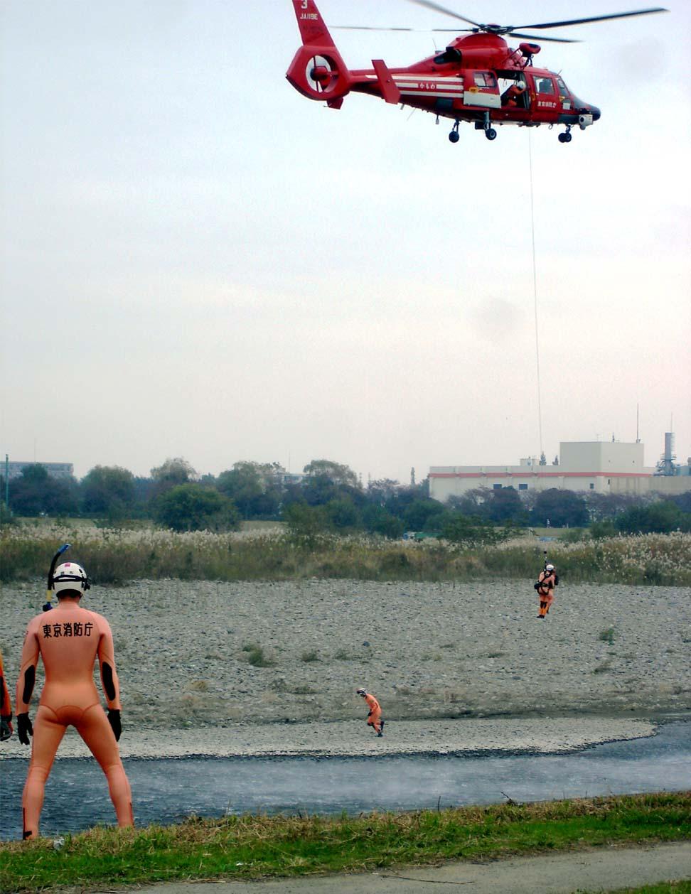 水難救助&ヘリ救出