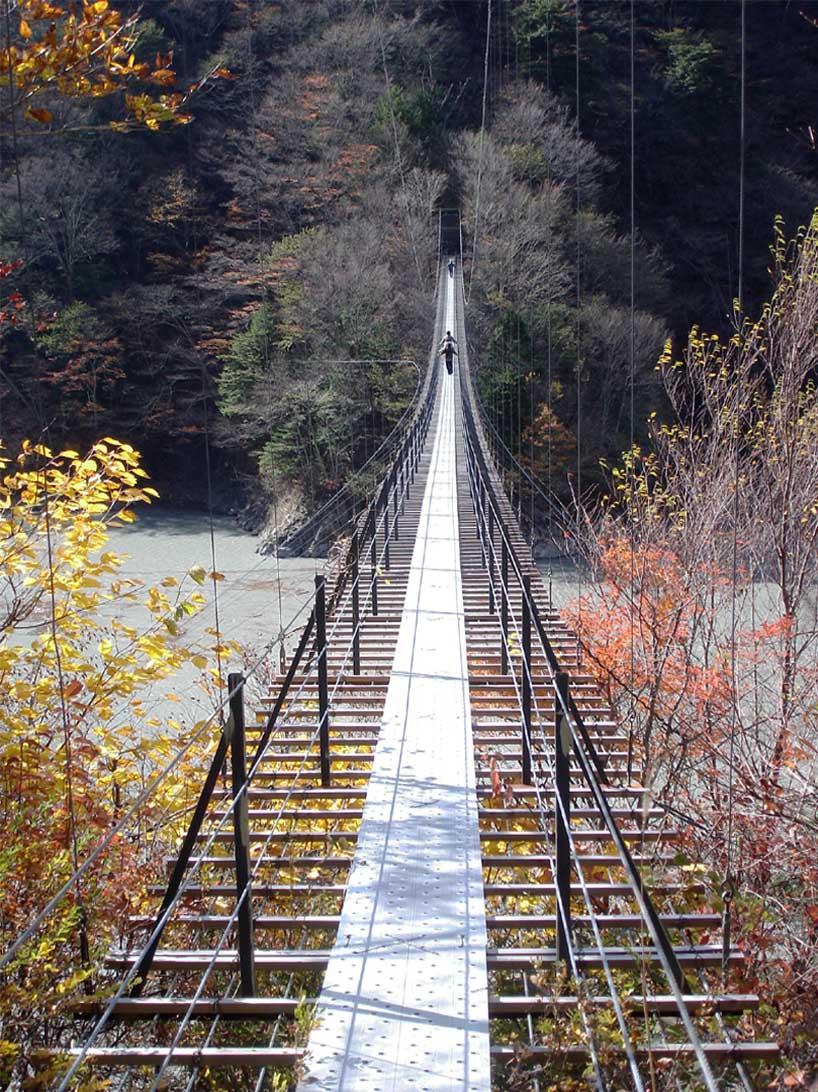 畑薙大吊橋①