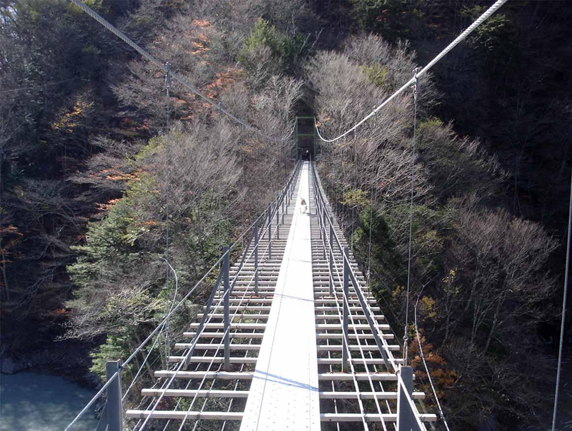 畑薙大吊橋⑯