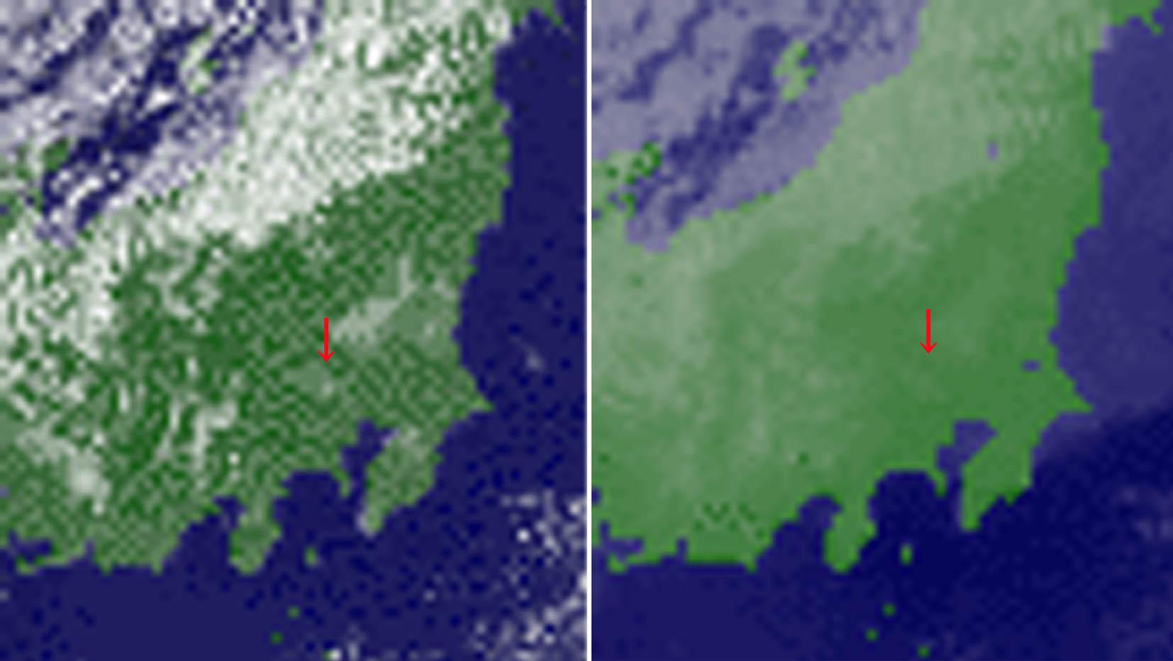 可視&赤外画像 200912060900