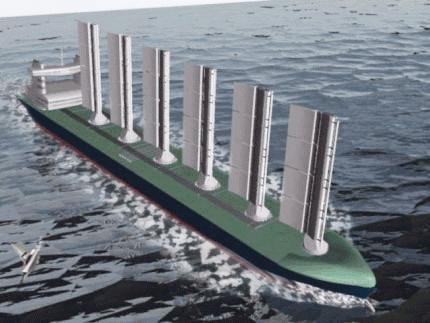 帆船タンカー