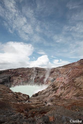 阿蘇山火山口