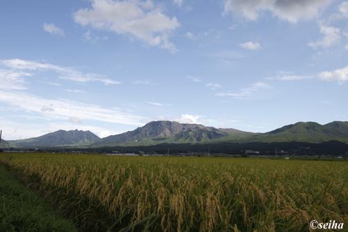 大地からの阿蘇山