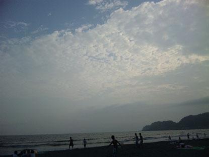 雲もキレイ