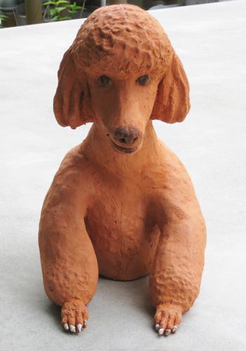 テラコッタ犬1