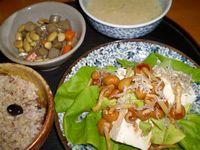 P9300151ジャコ入り豆腐サラダ風