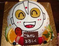 先生のケーキ