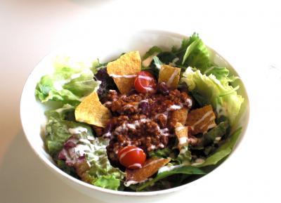 チリボールサラダ1