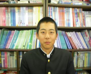 米田くん、おめでとう!(国分校)