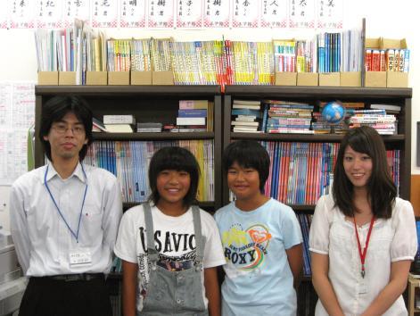 左から佐久間先生、Yさん、Tさん、佐々先生です♪