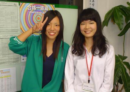 (左)青木さん(右)石井講師
