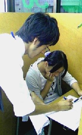 梅田さんと榊原講師