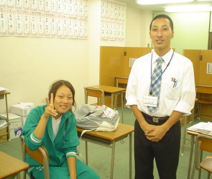 脇田講師と藤枝さん