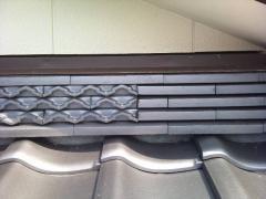 ふき止め、松川のし積み、小松製瓦、銀黒