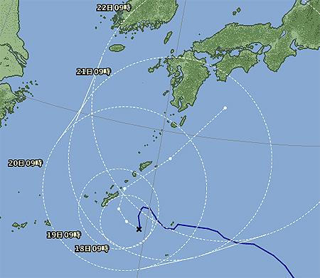 台風15号-2011年 その2