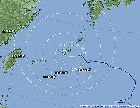 台風15号-2011年