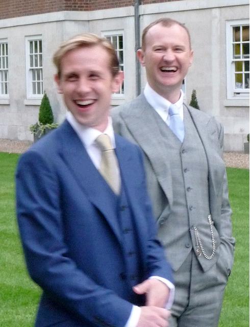 マーク・ゲイティスさんの結婚式...