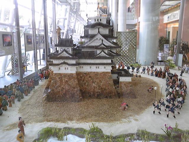 お菓子の姫路城