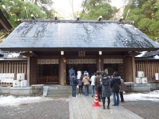天岩戸神社-本殿4