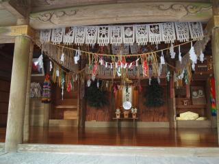 天岩戸神社-神楽殿2