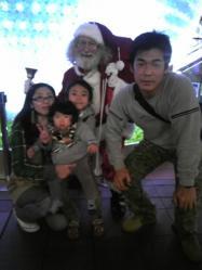サンタさんと・・・