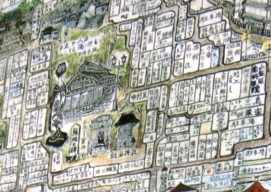 飯坂温泉図