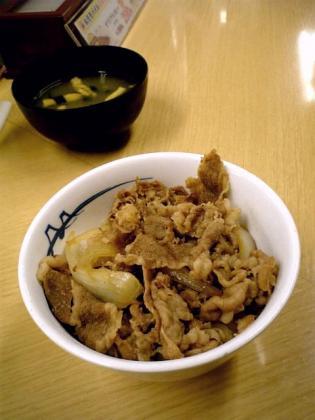 松屋2011.05.16~丼フェア牛めし(小盛)4