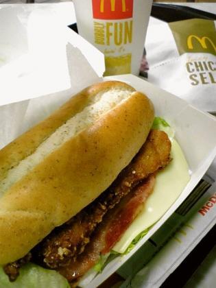 マクドナルド2011.06.03(金)~期間限定アイコンチキン イタリアンハーブとマックシェイク ヨーグルト味2