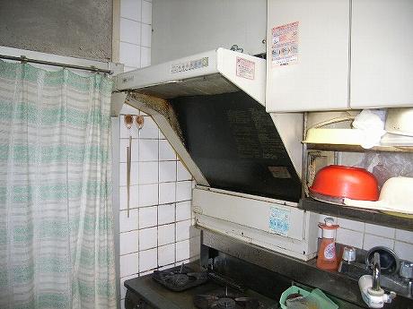 台所掃除完了(シロアリ研究施設)