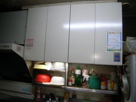 台所の物入れ掃除完了(シロアリ研究所員の私生活)