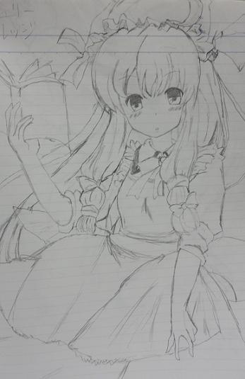 俺のイラスト(パチェ)