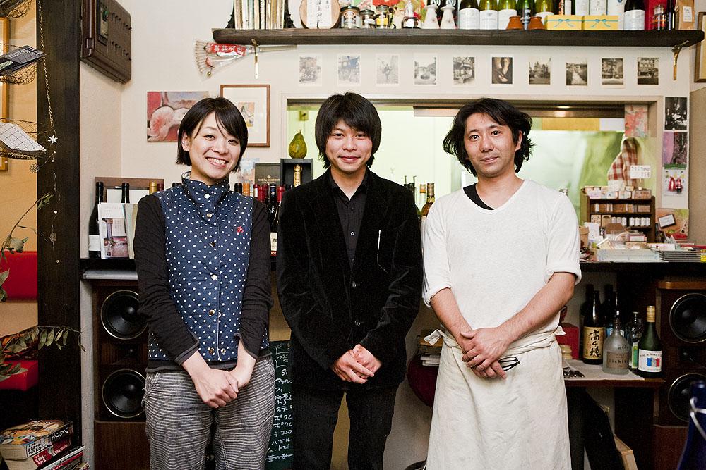島田さんとタクさんと一緒に