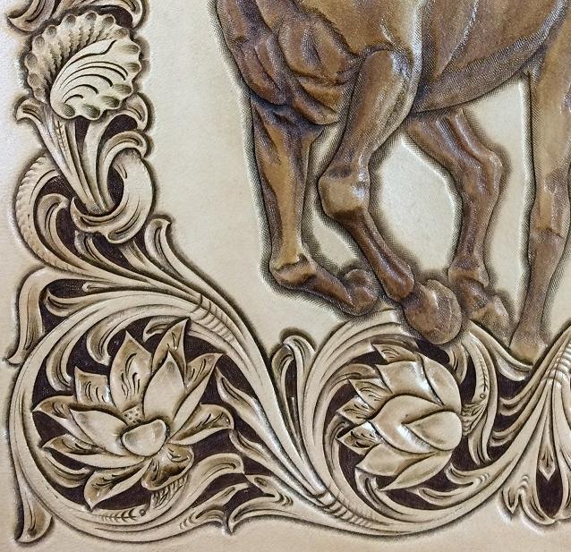 Leather carving on pinterest custom